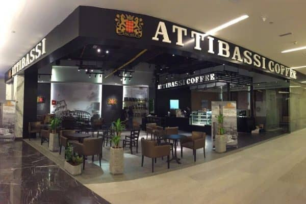 Caffetteria in Franchising Attibassi all'interno di un centro commerciale