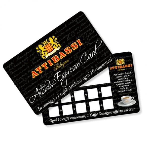 Attibassi - fidelity card