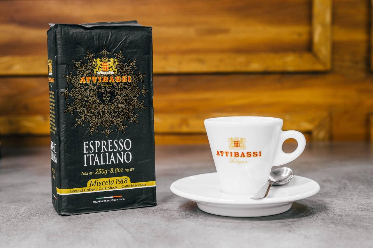 Caffè Macinato per Moka e Macchina da Caffè Espresso - Attibassi