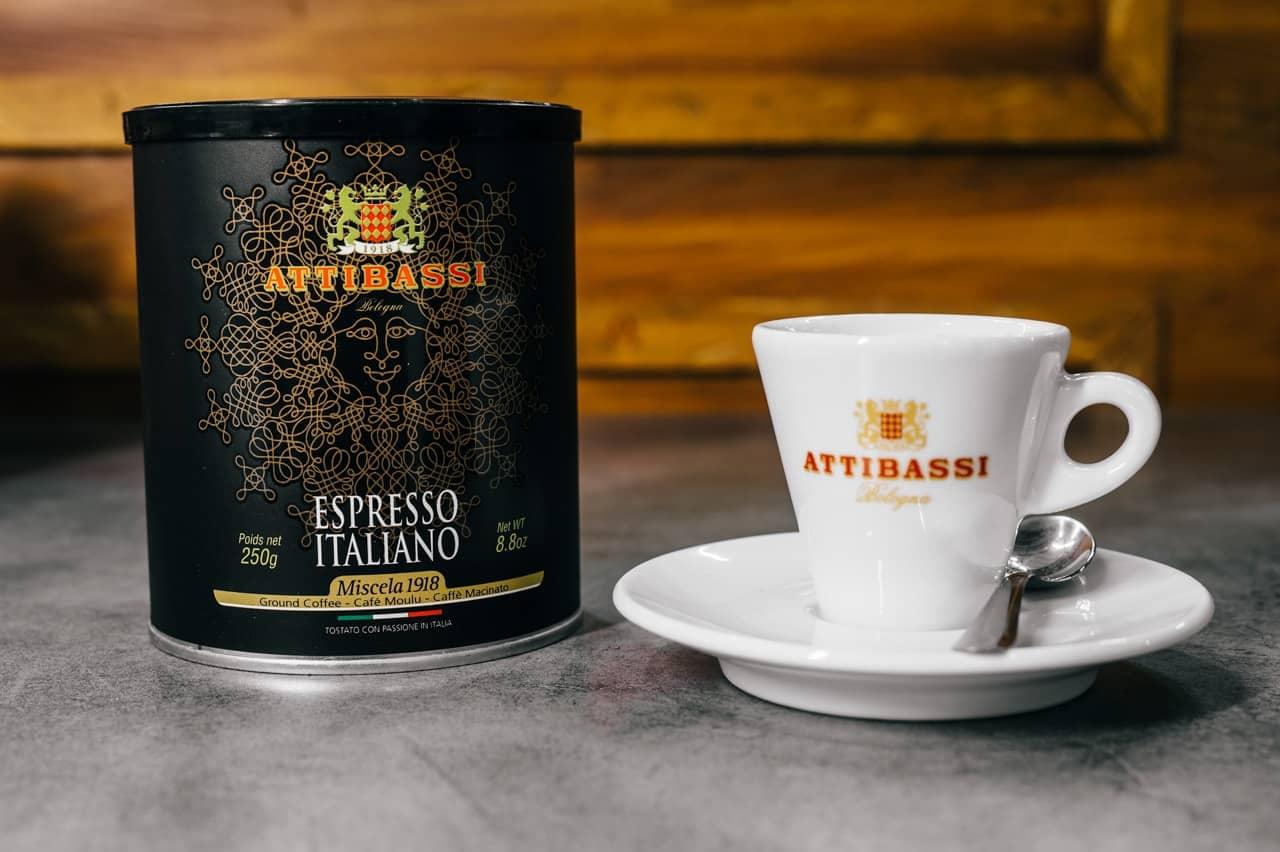 Attibassi Espresso Italiano Coffee