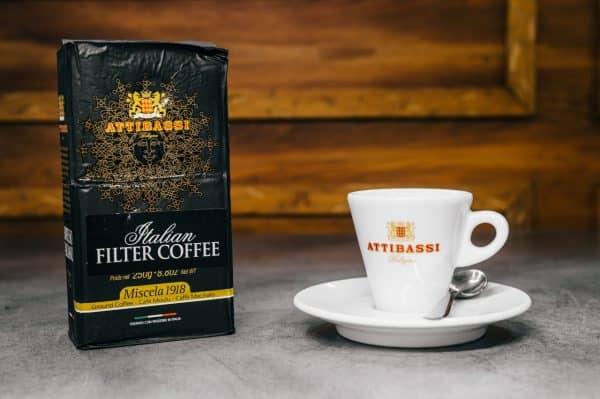 Attibassi_caffè macinato Filter Coffee