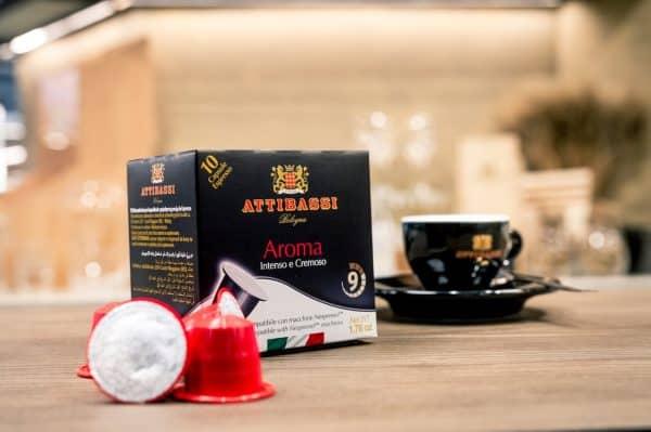 Attibassi - Capsule compatibili Nespresso - miscela Aroma