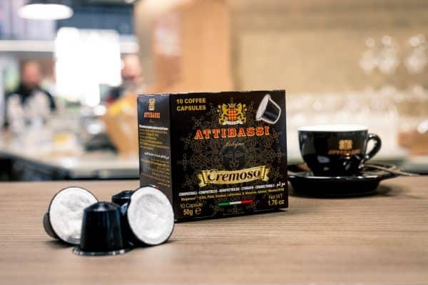 Attibassi - Capsule compatibili Nespresso - miscela Cremoso