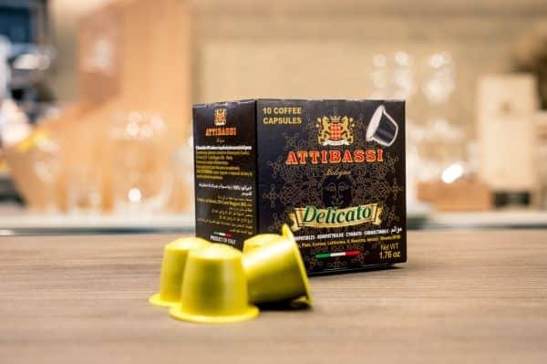 Attibassi - Capsule compatibili Nespresso - miscela Delicato