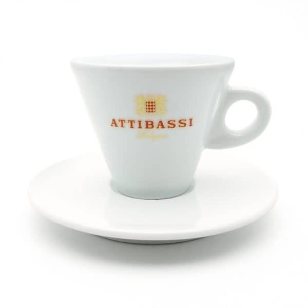 Attibassi - tazza cappuccino bianca