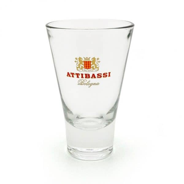 Bicchiere Attibassi Specialty Coffee in vetro